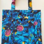 Plátěná skládací taška